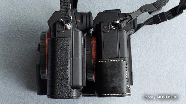 7 SONYα7RII用 格安カメラバッグ(カメラケース)純正比較