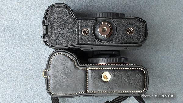 9 SONYα7RII用 格安カメラバッグ(カメラケース)純正比較