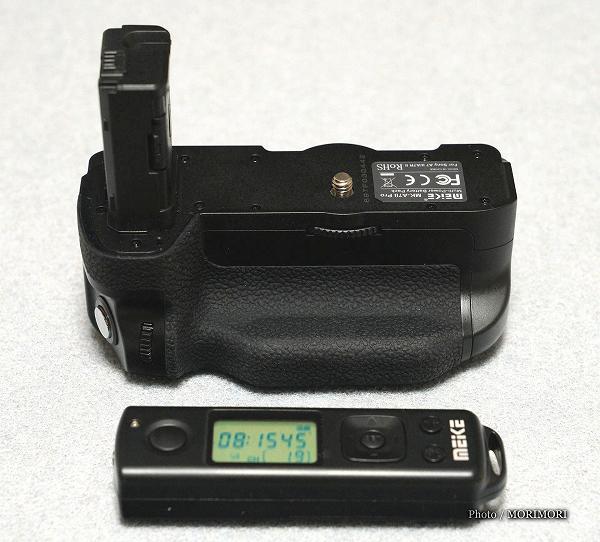 α7II α7RII α7SII用VG-C2EM互換縦位置バッテリーグリップグリップ Meike MK-A7�