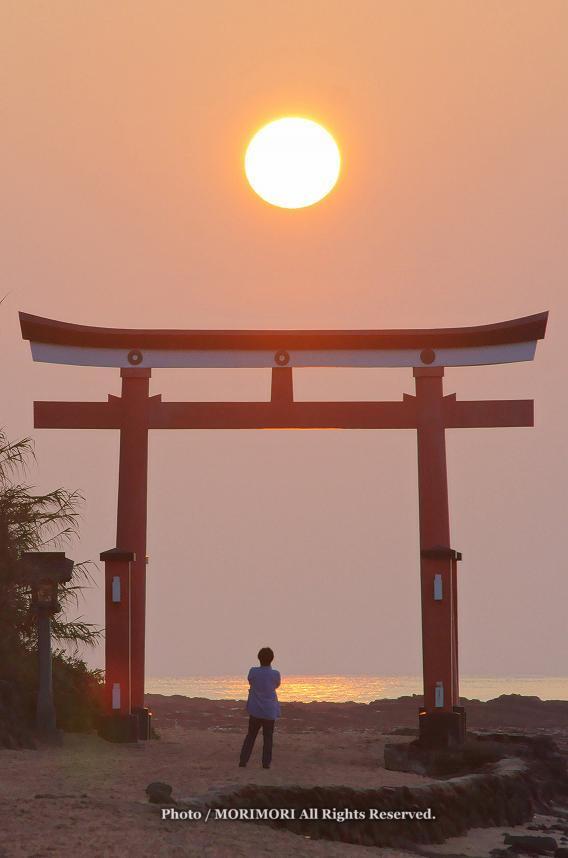 青島の日の出