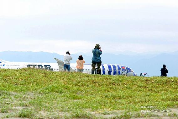 STAR WARS(スターウォーズ) 特別塗装機 R2-D2 ANA JET 宮崎空港 4