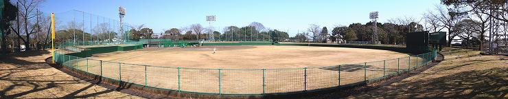 西都市西都原運動公園野球場