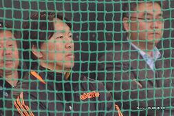 2014年読売巨人軍春季キャンプにて 2 松井