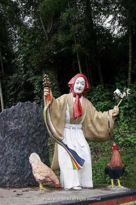 天の岩戸神楽発祥の地 鈿女