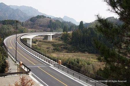 高千穂 河内バイパス 河内郷大橋 02