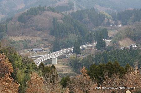 高千穂 河内バイパス 河内郷大橋 03