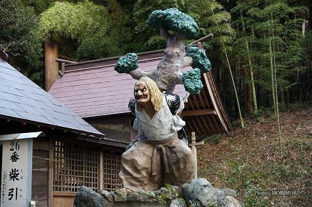 岩戸神楽 柴引き 05