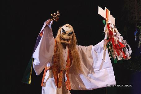 高千穂の夜神楽 手力雄の舞