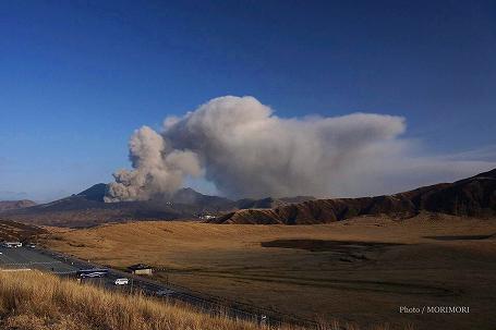阿蘇山 噴火