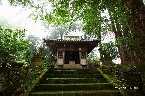 上野神社(高千穂町)拝殿