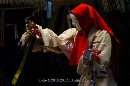 高千穂の夜神楽 鈿女(うずめ)の舞
