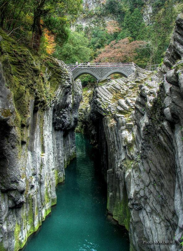 高千穂峡 槍飛び橋
