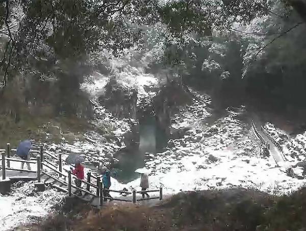 2018年1月10日 積雪した 高千穂