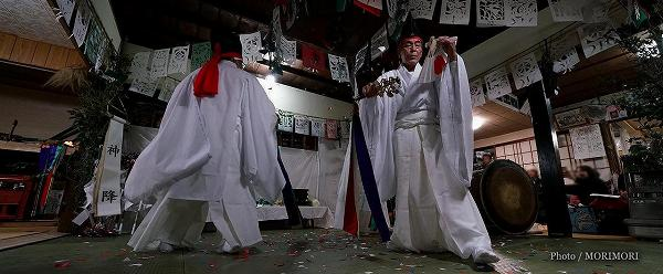 平成29年度高千穂の夜神楽(尾狩神楽)
