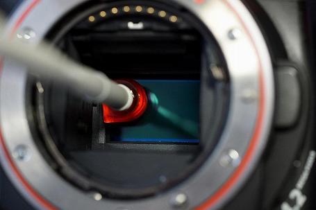 イメージセンサー クリーニング