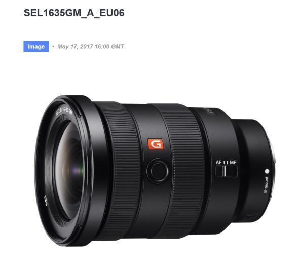 FE 16-35mm F2.8 GM(SEL1635GM)