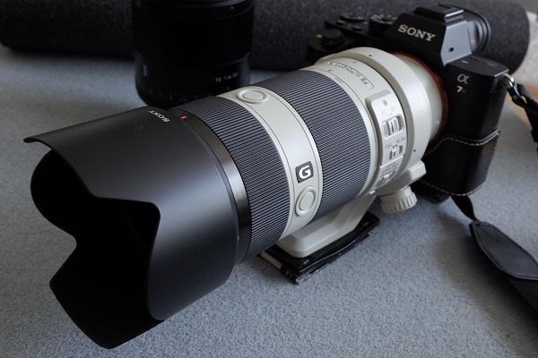 FE 70-200mm F4 G OSS(SEL70200G)花形フード仕様