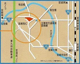 生目の杜運動公園の地図
