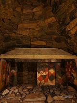 チブサン古墳 装飾された石室