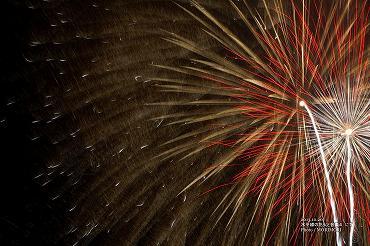 水平線の花火と音楽4 花火の写真 07