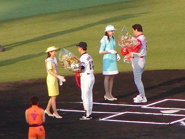 サンマリンスタジアム宮崎での公式戦 2004年 巨人-広島 03