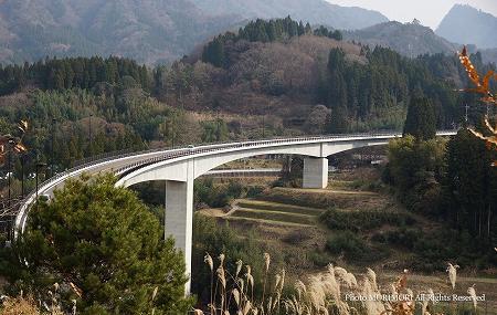 高千穂 河内バイパス 河内郷大橋 01