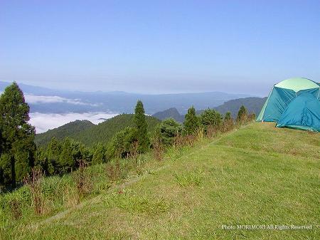 高千穂町 四季見原キャンプ場サイト風景 02