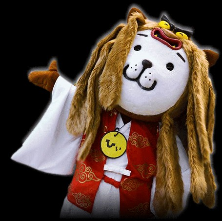 宮崎県シンボルキャラクター 神楽 ひぃくん (みやざき犬)