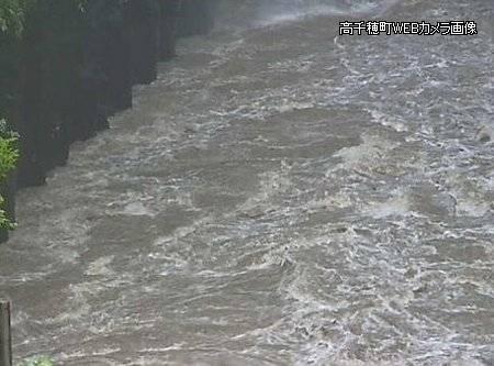 高千穂峡 増水 03