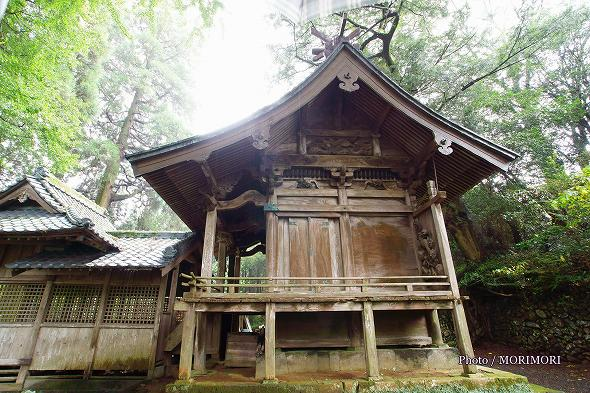 上野神社(高千穂町)本殿