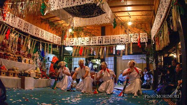 高千穂の夜神楽 神庭